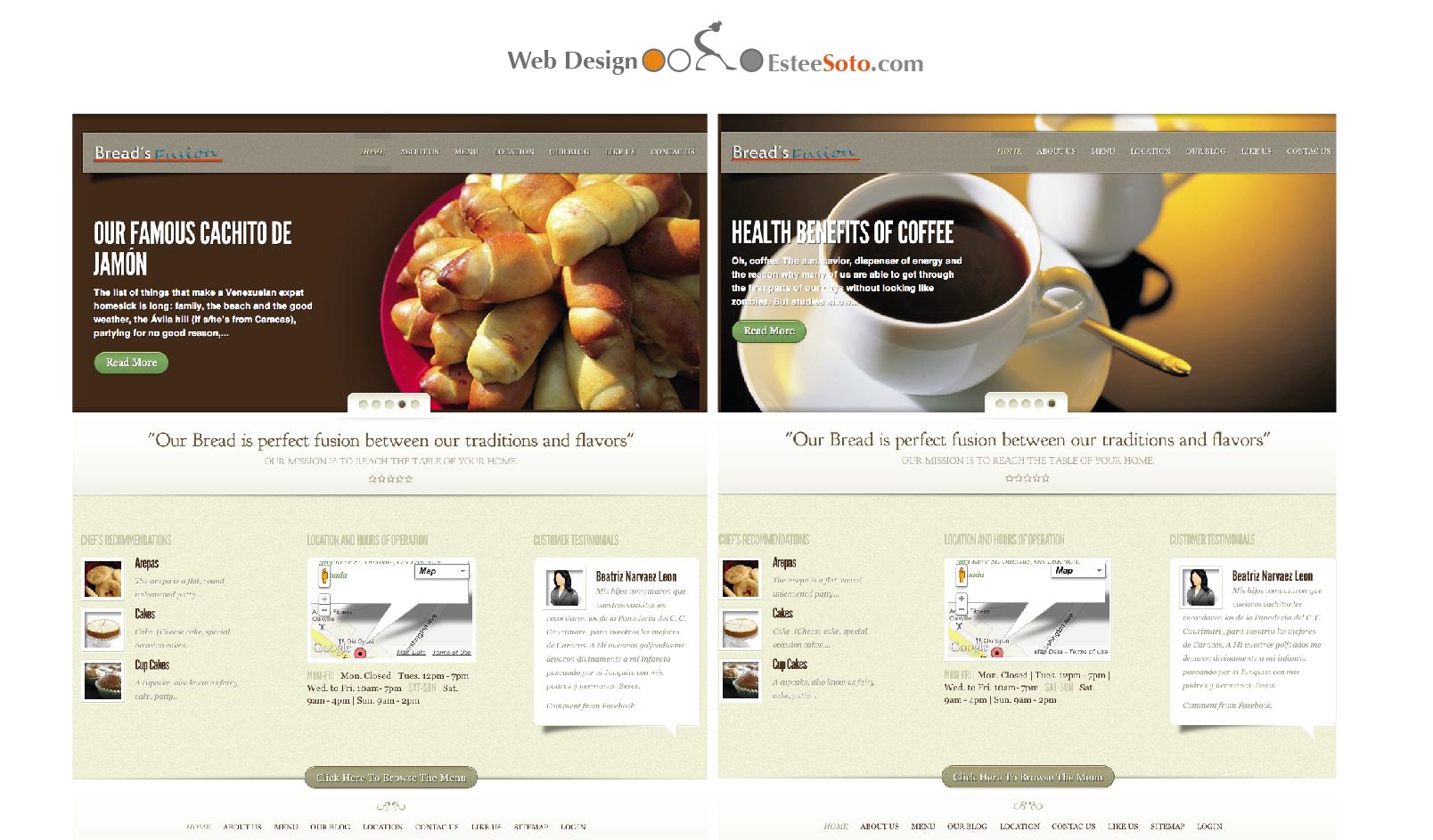 BreadsFusion.com Website