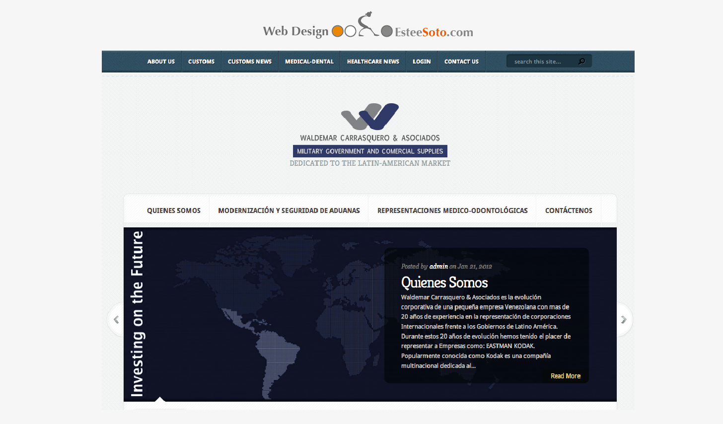 WaldemarCarrasquero.com Website
