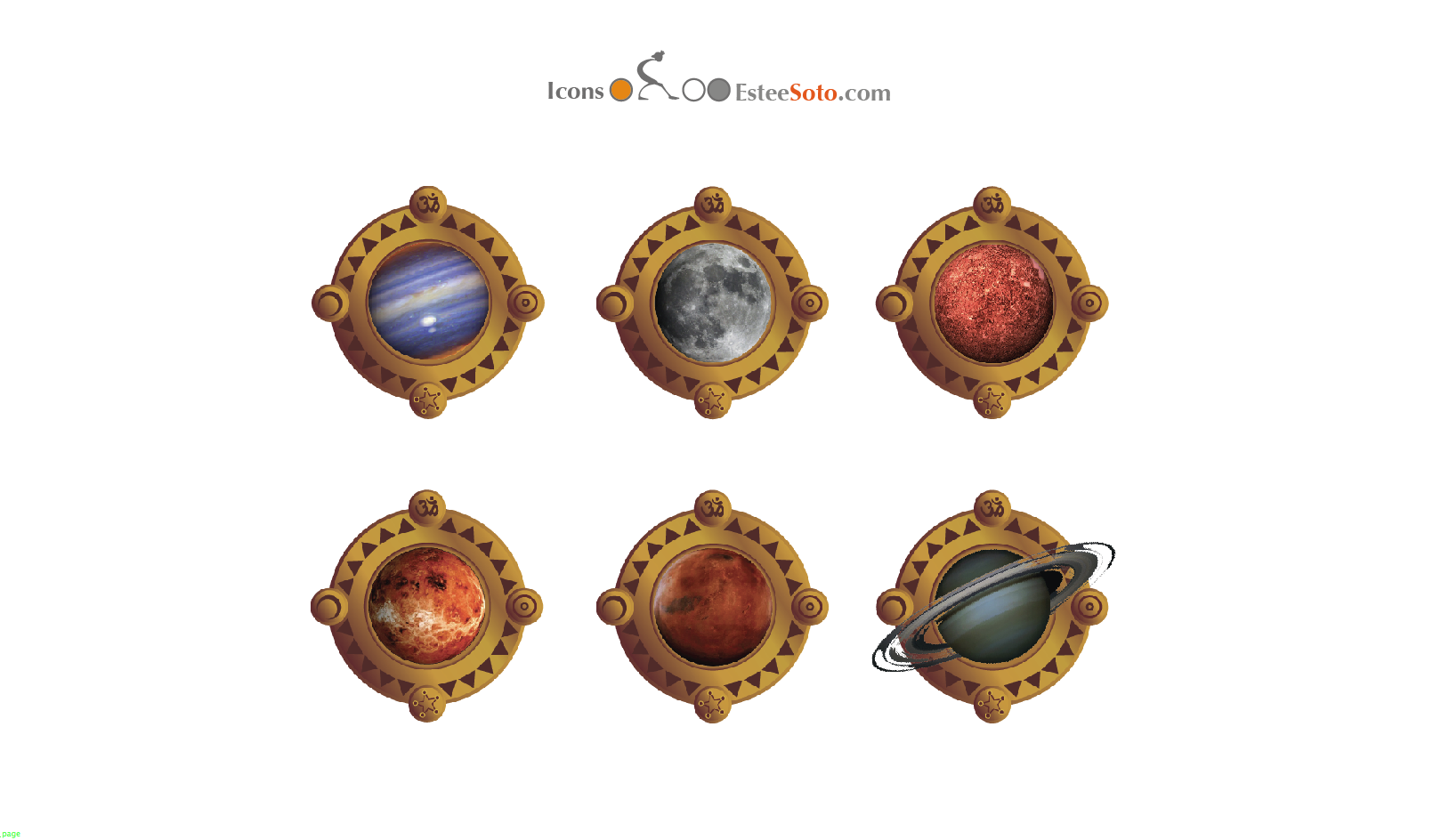 Planets | Tarot Sideral