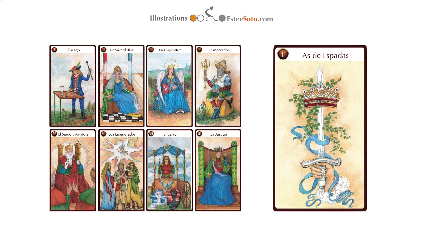 Tarot Sideral Cards