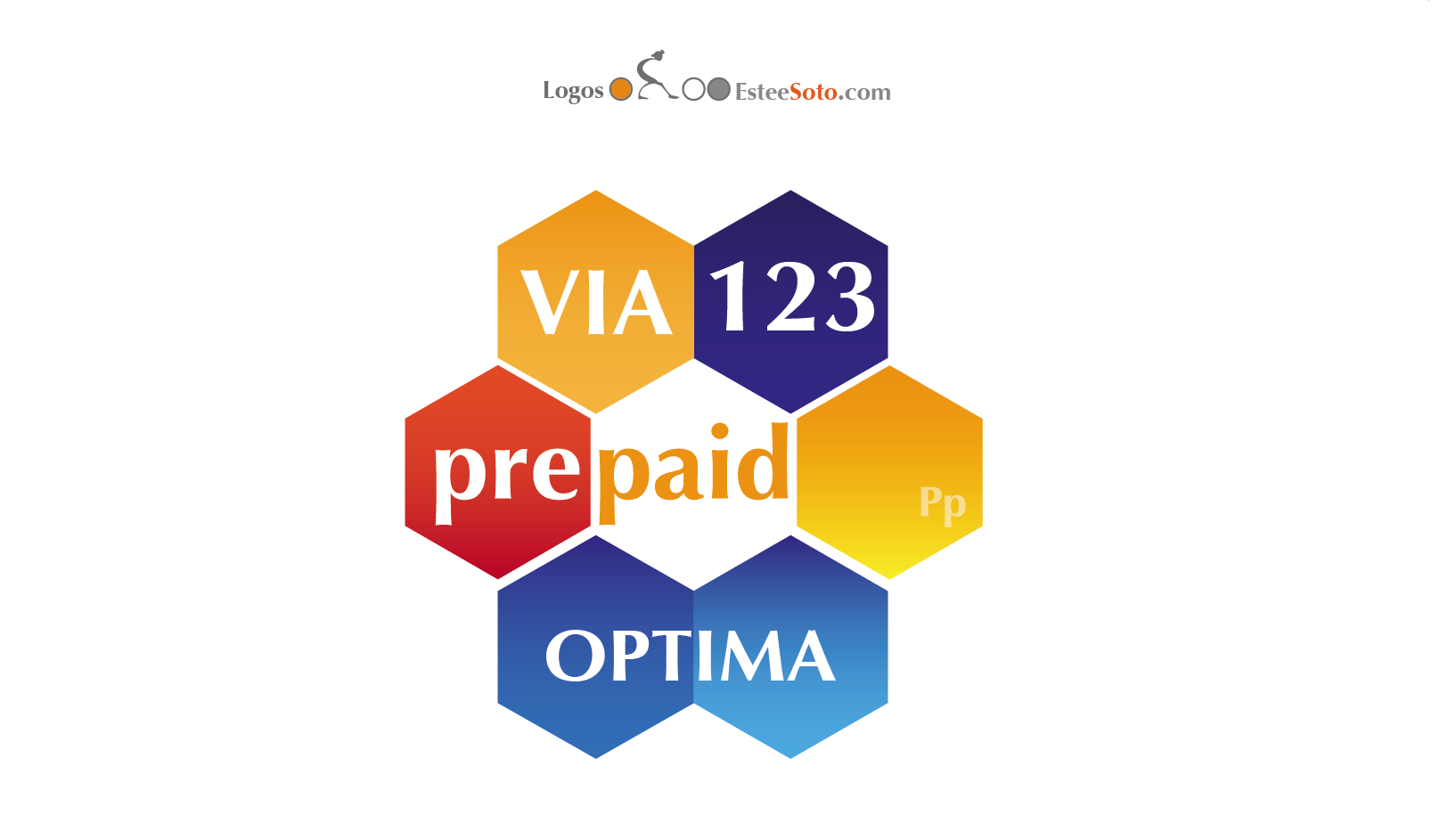 "Logo Proposal for Prepaid cards ""Via 123"""
